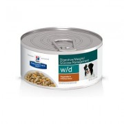 Hill's Prescription Diet w/d Digestive/Weight/Glucose Management Vegetable & Chicken Stew Canned Dog Food, 5.5-oz, case of 24