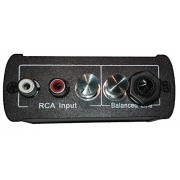 Di Box, Balanced 3 Channel Mixer : Microphone/instrument (Balanced Line), Stereo Music (2x Rca Input), Mono Output