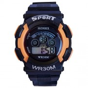 Vitrend Orange (Random color will be sent) Sports Digital Watch - For Boys & Girls