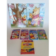 I can learn with Pooh early skills learning set flash cards coloring books crayons Bundle Set Winnie The Pooh Bear