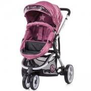 Детска комбинирана количка Ферара - бургунди, Chipolino, 350661