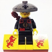 MinifigurePacks: Lego Adventurers - Orient Expedition Bundle (1) DRAGON FORTRESS GUARD (1) FIGURE DISPLAY BASE (1) FIGURE ACCESSORY
