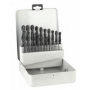 Set burghie pentru metal HSS-R, DIN 338, 25 buc.