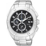 Citizen Black Stainless Steel Round Dial Quartz Watch For Men (CA0210-51E)