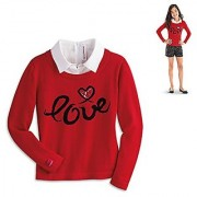 American Girl Graces City Sweater for Girls Size Medium (10/12) (Shorts Not Included)