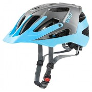 Uvex Quatro - Casco de ciclismo unisex, azul claro