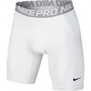 "Nike Mens Pro 6"" Cool Compression Shorts White/Grey/Black 703084-100 Size Small"
