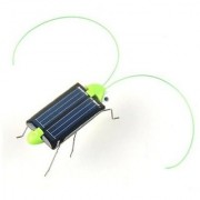 Glomarts new birthday gift Adorable Solar Power Robot Insect Bug Locust Grasshopper Toy kid