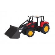 DICKIE de juguete 203735002 - Tractor con carga frontal Farm Tractor