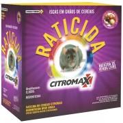 RATICIDA DE CEREAIS CITROMAX - 1KG (CX C/ 40 UN. de 25gr)