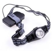 Lanterna frontala pentru cap cu LED 3W si controlul luminii