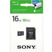 SONY 16 GB MicroSDHC 16GB Memory Card Class10 SR-16UY3A 90 MB/s