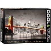 Eurographics Puzzle 1000 Pz - Brooklyn Bridge, New York City