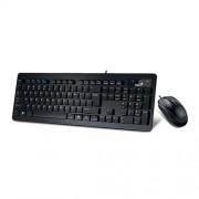 Set GENIUS SlimStar C130 USB black CZ+SK