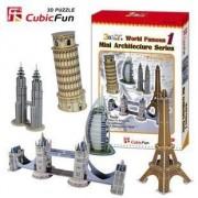 3d Puzzle Mini Architecture Series 1 by Cubic
