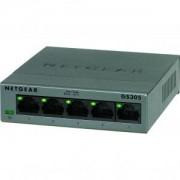 Комутатор Netgear 5 x 10/100/1000 Gigabit Switch (metal case) - GS305-100PES