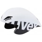 UVEX race 2 pro Kask biały/czarny Kaski rowerowe