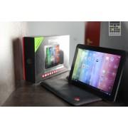 Tableta Prestigio MultiPad 4 Quantum 10.1 3G inch Quad Core, 1GB RAM, 8GB flash, Wi-Fi, Bluetooth, Android 4.2, Alb,Negru