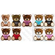 Apple iphone 6 4.7 inch (силиконов калъф) 'Teddy Bear style'