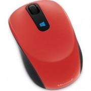 Мишка Microsoft Sculpt Mobile Mouse Win7/8 Flame Red V2 - 43U-00025