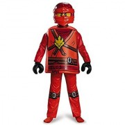 Disguise Kai Deluxe Ninjago LEGO Costume Medium/7-8