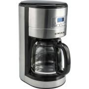 Кафемашина шварц Singer SFC 1810 D, 1000 W, 1.8 л, 12 чаши, Сива