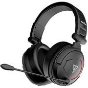 GAMDIAS Hephaestus V2 Vibration + Lighting Headset with HD 50mm Drivers Gooseneck Mic & Bass Impact(Black)(GHS3501)