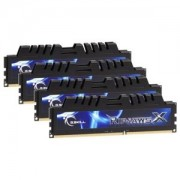 Memorie G.Skill RipjawsX 8GB (4x2GB) DDR3, 1333MHz, PC3-10600, CL7, Dual Channel, Quad Kit, F3-10666CL7Q-8GBXH
