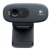 Logitech C270 Webcam, Alta Definizione, USB, Nero