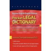 Russian-English/English-Russian Pocket Legal Dictionary by Leonora Chernyakhovskaya