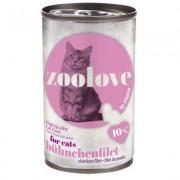 zoolove Kip - 6 x 140 g