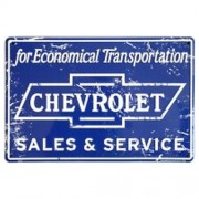 """""""Sign - Chevrolet Sales And Service """""""