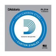 D'Addario - PL014 Plain Einzelsaite