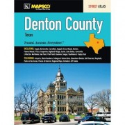 Universal Map Denton County Texas Street Guide 15958