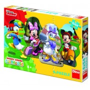 PUZZLE 4 IN 1 - MICKEY SI PRIETENII (54 PIESE) (333130)