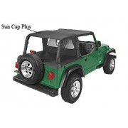 Pavement End Bikini Top for 1998 - 2001 Jeep Wrangler