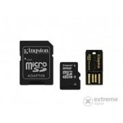 Card Kingston microSDHC 32GB Class10 + cititor microSD