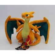 """Mega Charizard Dragon Pokemon 9"""" Anime Animal Stuffed Plush Plushies Doll Toys"""