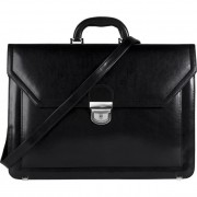 Leather Briefcase B-405DW