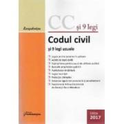 Codul civil si 9 legi uzuale Ed.2017