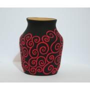 col. art nouveau negru-004