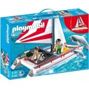 Playmobil 5130 - Catamaran Et Dauphins