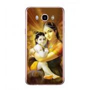 Fuson Designer Phone Back Case Cover Samsung Galaxy J7 (6) 2016 :: Samsung Galaxy J7 2016 Duos :: Samsung Galaxy J7 2016 J710F J710Fn J710M J710H ( Lord Krishna With Yashodha )