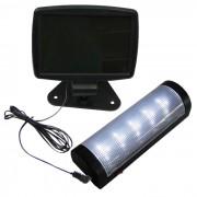 Luminária Solar para parede e teto 5 LEDS premium 1385