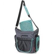 Fisher Price Fastfinder Quick Trip Tote Diaper Bag - Aqua