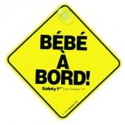 """Safety First 2012 Collection - Señal de aviso para coche en francés """"Bébé à Bord!"""" (""""¡Bebé a bordo!"""")"""