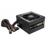 Fuente de Poder Corsair CX600M 80 PLUS Bronze, ATX, 120mm, 600W