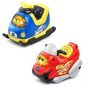 VTech Go! Go! Smart Wheels - 2-pack with Motorcycle and Snowmobile