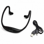 Wireless Sports Neckband MP3 Music Player with MICRO SD Card Support