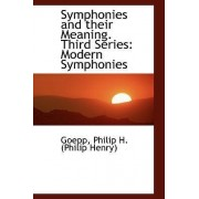 Symphonies and Their Meaning. Third Series by Goepp Philip H (Philip Henry)